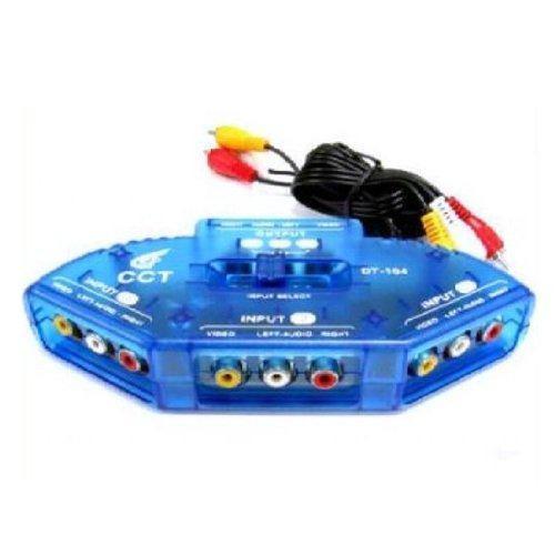 Importer520 rca compuesto audio vídeo av vídeo selector ju