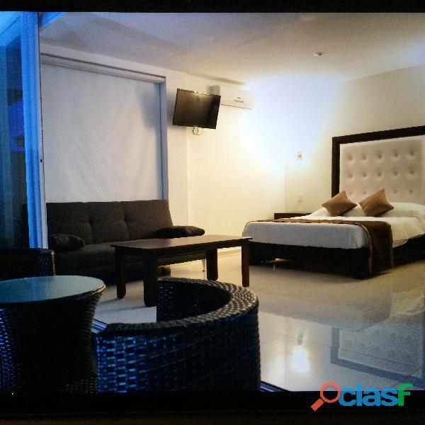 Hotel de playa nuevo sobre la playa el real, municipio de tecoman.