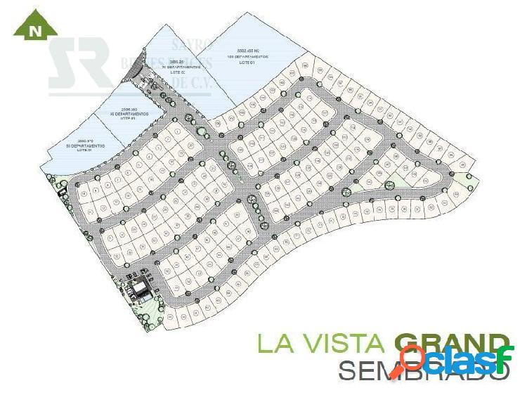 Terreno habitacional en venta en la vista grand, el refugio