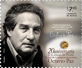 2010 octavio paz premio nobel literatura escritor sc 2723
