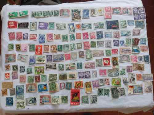 Ahora lote 1070 timbres postales diferentes paises.