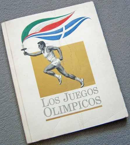 Albúm de estampillas de los juegos olímpicos 1968