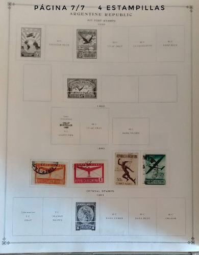 Coleccion timbres postales argentina 1899-1940 estampillas51