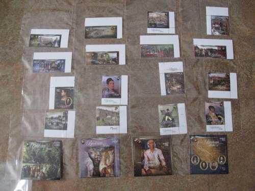 Estampillas o timbres del bicentenario de la independencia