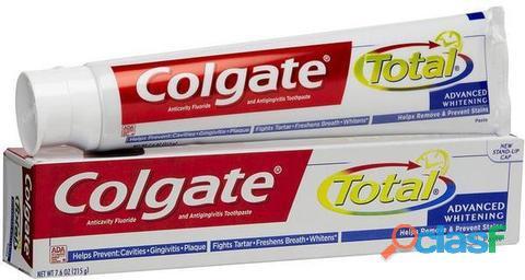 Empaca pasta dental en su domicilio