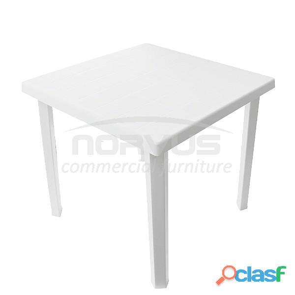 Mesas cuadradas de plastico multiusos quitapon