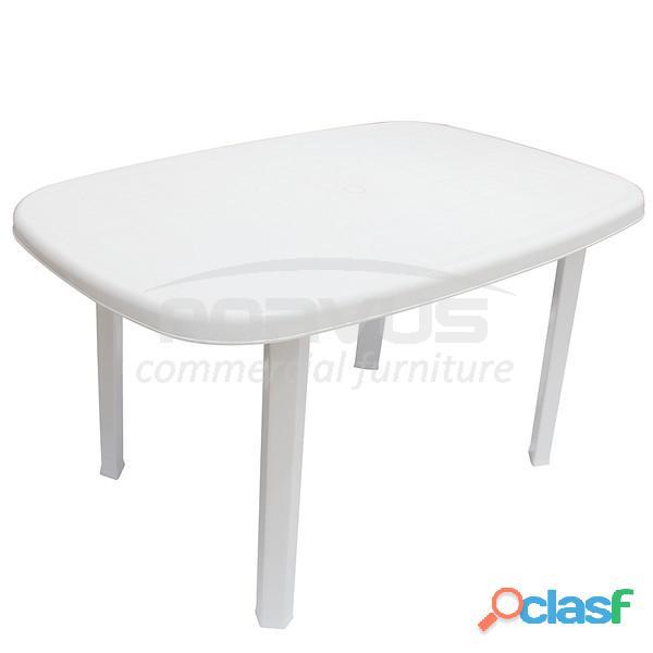 Mesas rectangulares de plastico quitapon
