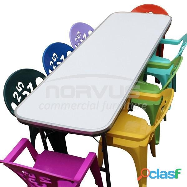 Venta de mesas y sillas infantiles para fiestas