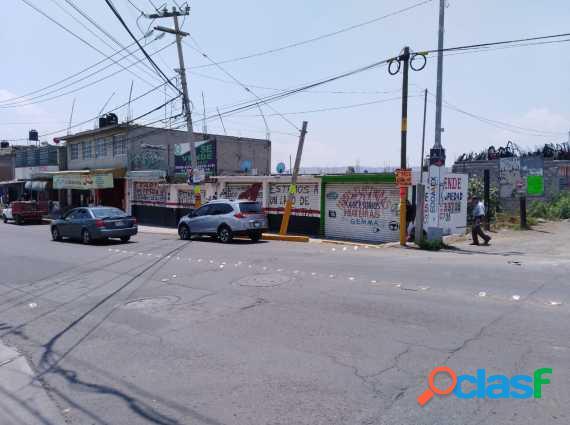 SE VENDE TERRENO CON ACCESORIAS EN CHICOLOAPAN
