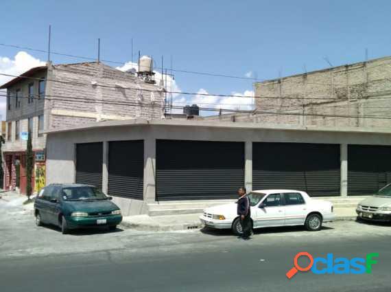 SE RENTA LOCAL NUEVO EN VALLE DE CHALCO