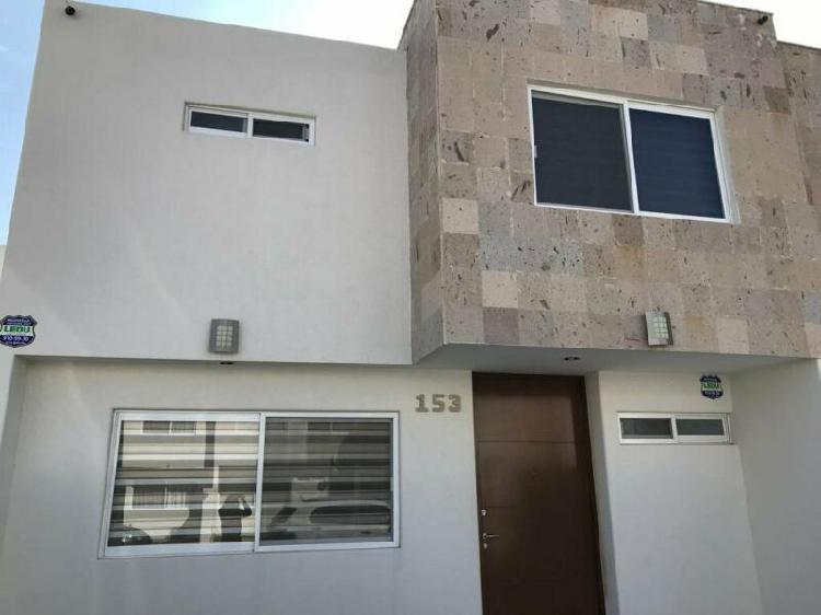 Casa en renta amueblada camino de santiago en aguascalientes