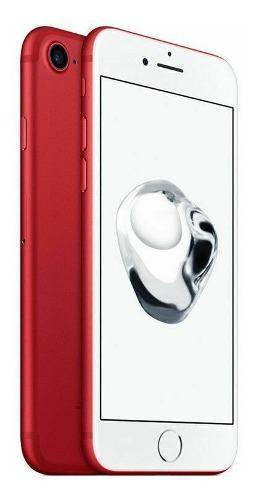 Celular iphone 7 edicion especial rojo 128gb nuevo original