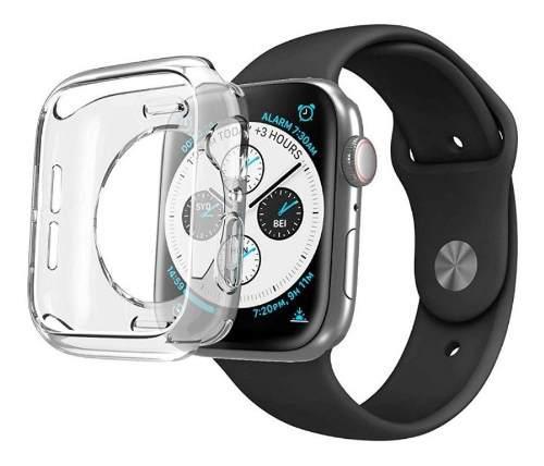 Funda protectora tpu p/ apple watch serie 4 (44mm & 40mm)