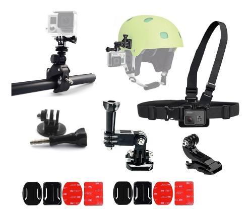 Kit de accesorios biker cámara de acción gopro