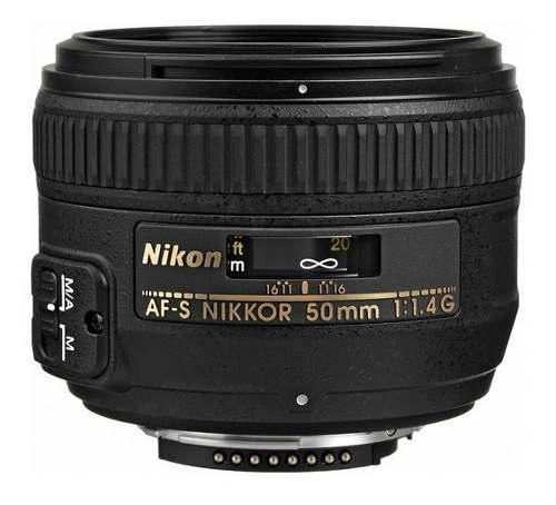 NIKON LENTE NIKON AF-S NIKKOR 50MM F/1.4G, usado segunda mano  México (Todas las ciudades)