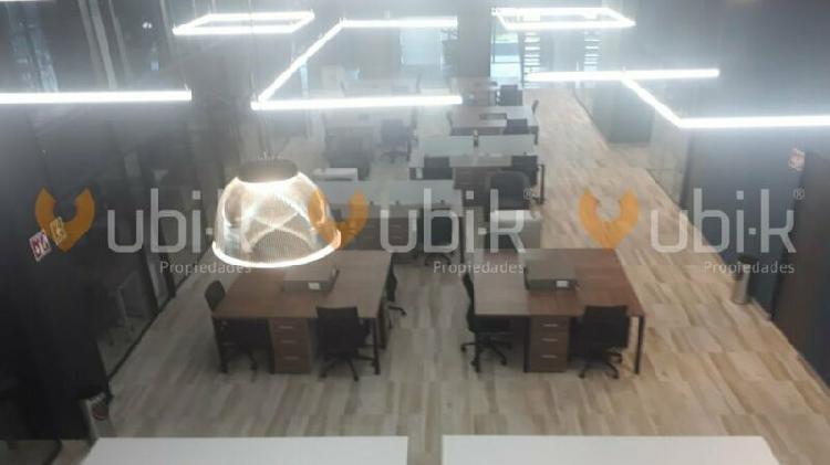 Torre diamante - oficinas 4pers equipadas precios accesibles