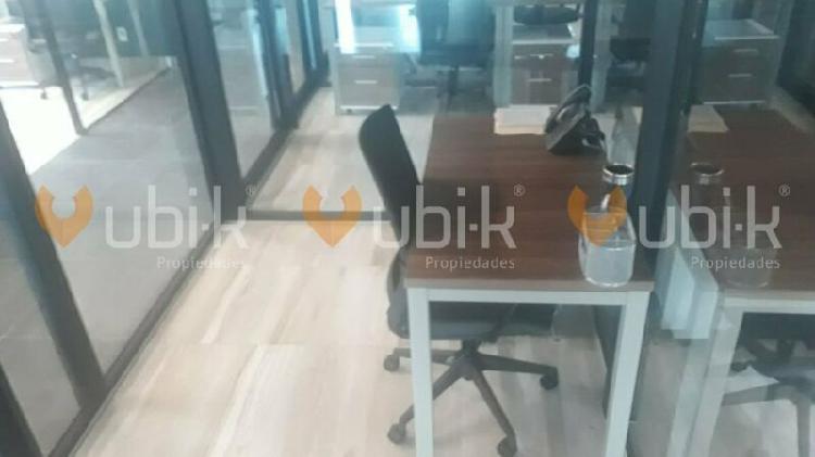 Torre diamante - oficinas 5pers equipadas precios accesibles
