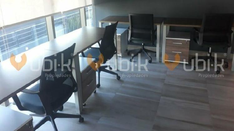 Torre diamante - oficinas 8pers equipadas precios accesibles
