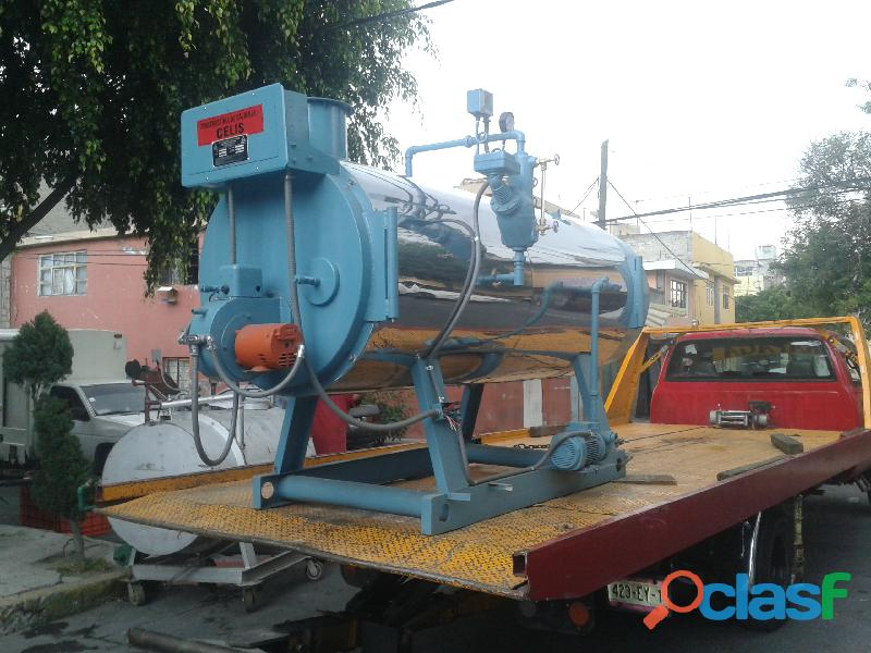 Caldera industrial 4 pasos, 40 hp,gas lp