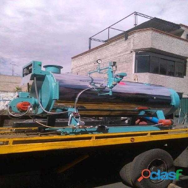 CALDERA INDUSTRIAL 4 PASOS, 40 HP,GAS LP 1
