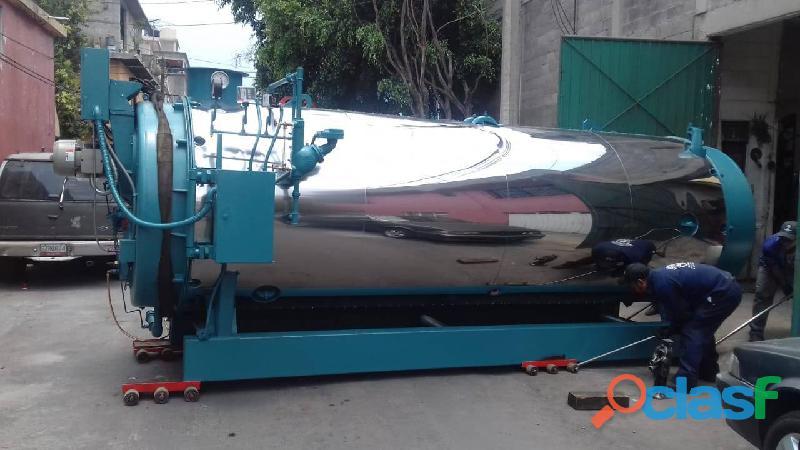 Caldera industrial de 200 hp cleaver brooks
