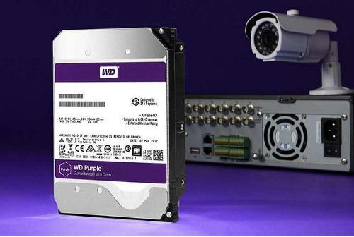 1tb disco duro video vigilancia cctv western digital purple