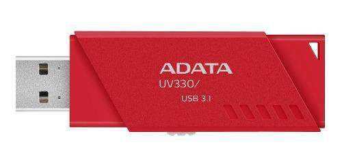 Adata memoria usb 64gb 3.1 alta velocidad uv330 retractil