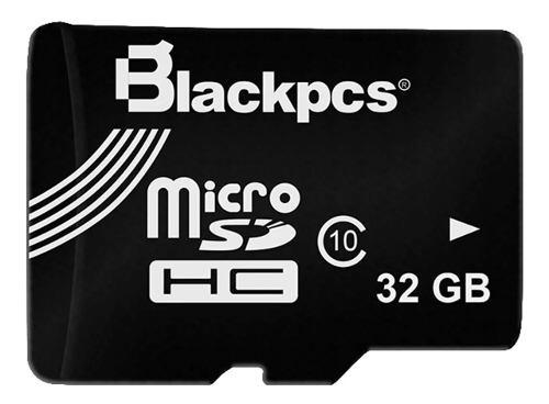Blackpcs memoria 32gb micro sd clase 10 mm10101-32
