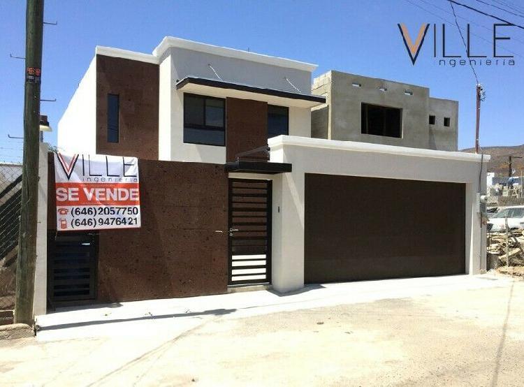 Casa nueva en venta valle dorado