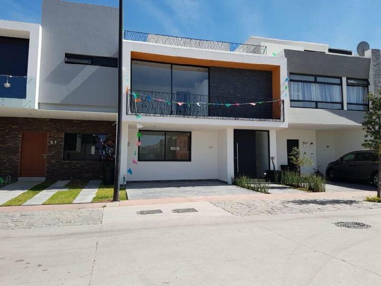 Casa en venta casa solares coto zanthe 50