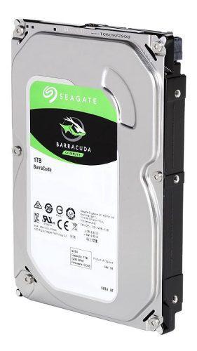 Disco duro 1 tb sata 3.5 pc cctv dvr seagate barracuda nuevo