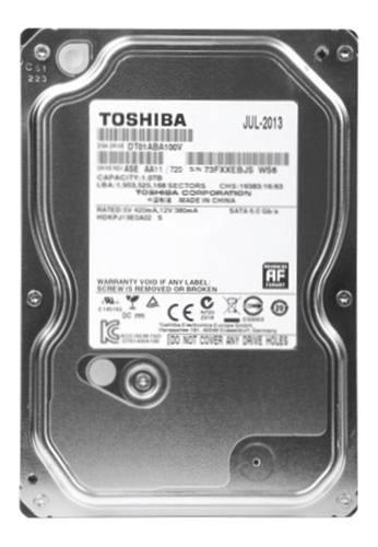 Disco duro 1tb 5700 rpm toshiba para cctv dvr