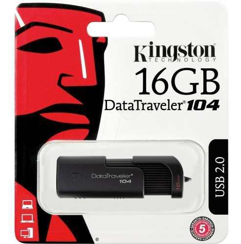 Memorias usb 16gb kingston laptop pc archivos dt100 dt104 g4