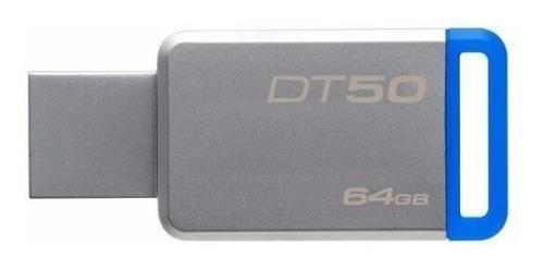 Memorias usb 3.0 64gb kingston dt50 modelo alta velocidad +