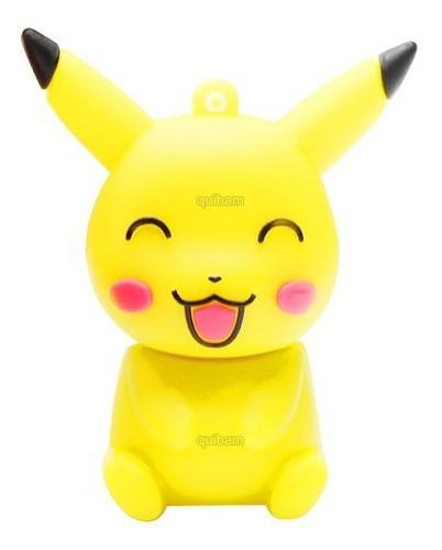 Memorias usb figuras pokemon go pikachu 8 gb