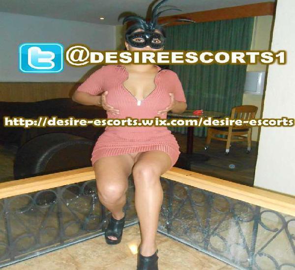 SÍGUENOS EN TWITTER @DESIREESCORTS1