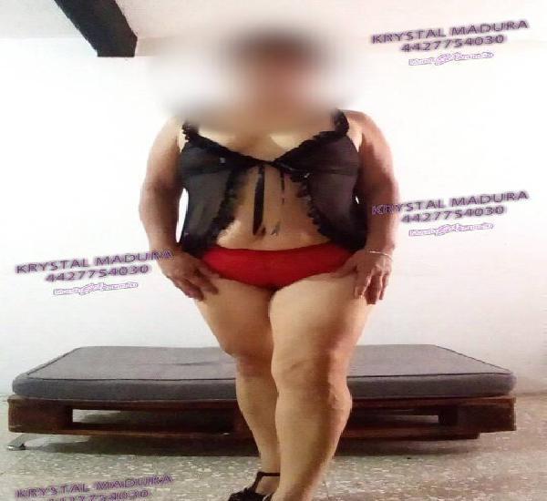 Soy krystal escort independiente. oral vaginal anal LLÁMAM