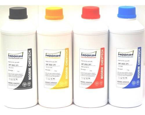 1 litro de tinta marca moorim pigmentada compatible con hp