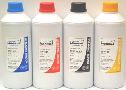 4 litros tinta marca moorim tipo dye compatible con brother