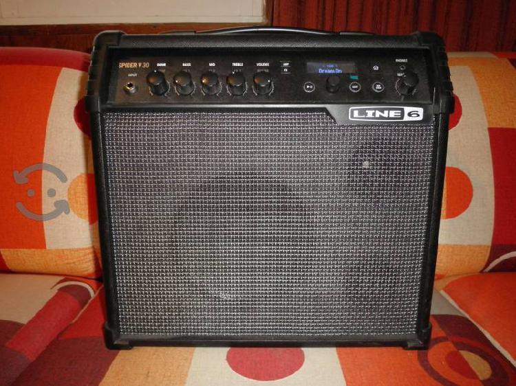 Amplificador guitarra line 6 spider v 30 30 watts