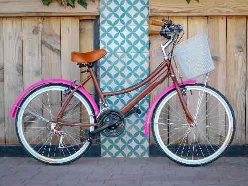 Bicicleta clasica vintage personalizada diseño unico 18vel