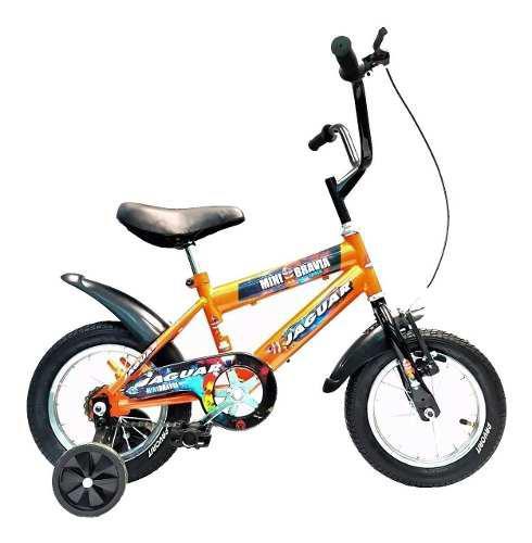 Bicicleta infantil niño rodada 12 llantas inflables 2019