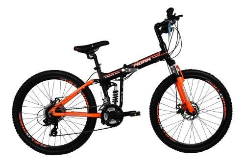 Bicicleta klamp monk plegable de montaña alum susp/d r26