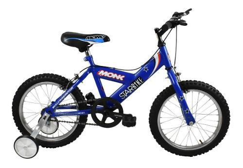 Bicicleta monk starbike rodada 16 de niño 1 velocidad c/rda