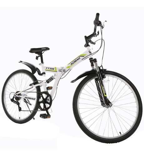Bicicleta plegable de montaña r26 7 vel shimano meses s/int