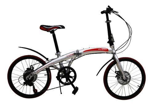 Bicicleta plegable plenty 20 7 velocidades shimano ligera