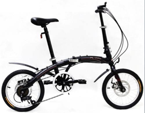 Bicicleta plegable plenty ligera portatil r16 shimano