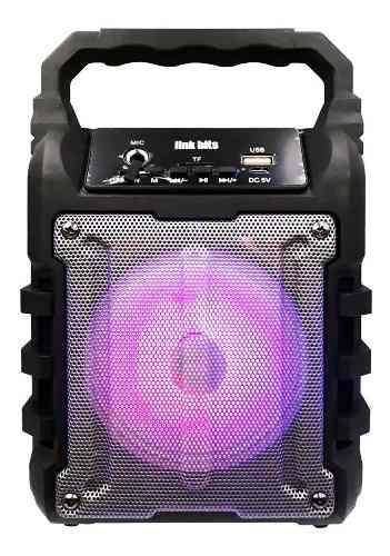 Bocina bluetooth recargable usb fm karaoke va459tp full