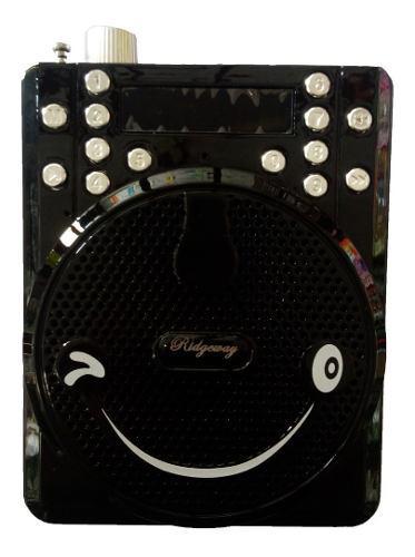 Bocina portable microfono megafono bluetooth recargable aud.