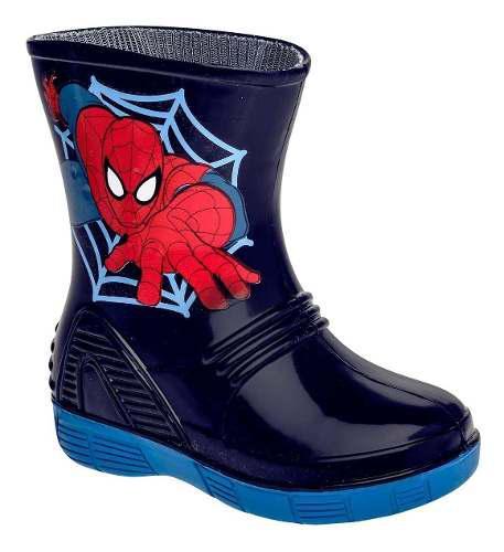 Botas para lluvia hombre araña marca sandak walter dog